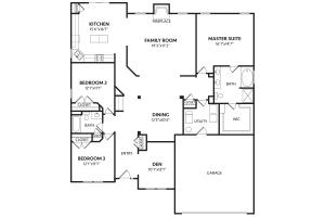 2260 Breckenridge Floor01 Davis Homes