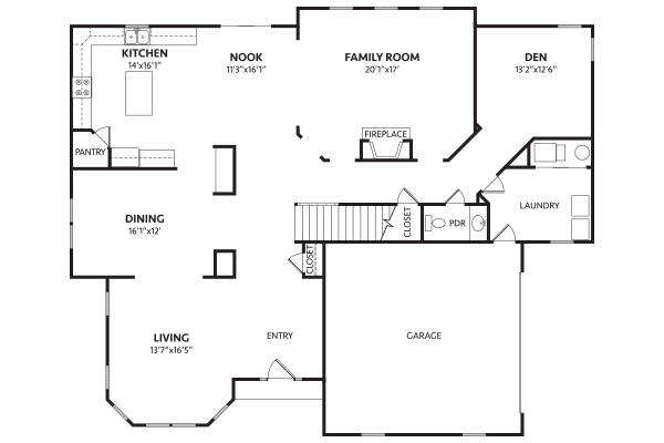Tamworth davis homes for Davis homes floor plans