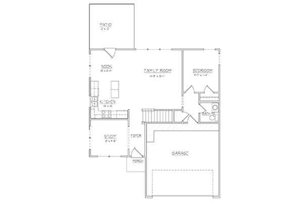 Keystone ii davis homes for Davis homes floor plans