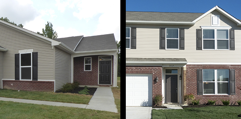 choosing between a one or two story house - Two Story Houses Pictures