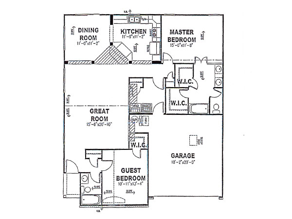 Cambridge first floor davis homes for Davis homes floor plans