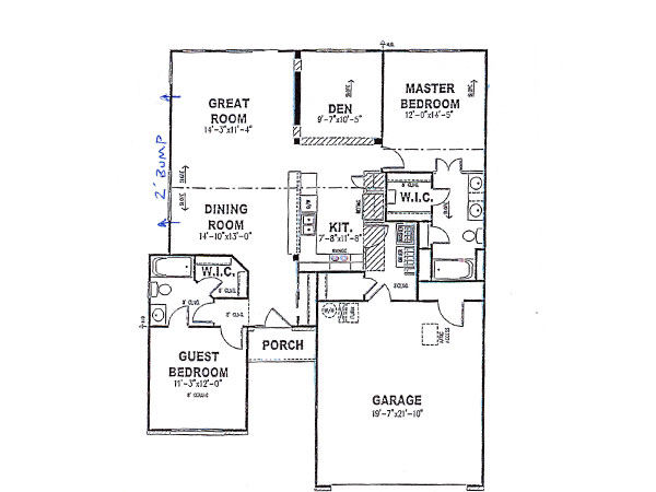 Diplomat first floor davis homes for Davis homes floor plans