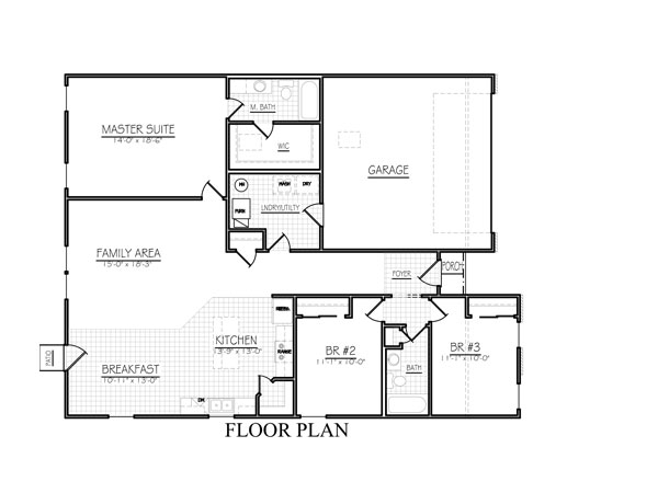 Freemont floor plan davis homes for Davis homes floor plans