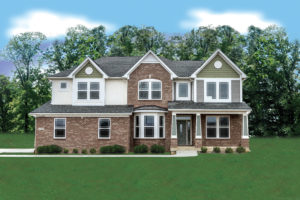 floor plan on your lot custom home builder