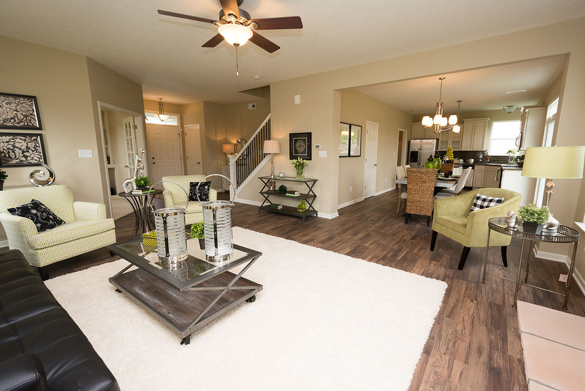 Visit our decorated model homes davis homes for Photos of model homes