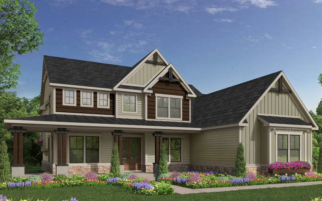 Davis Homes Reveals Rendering for 2019 Indianapolis Home Show Centerpiece Home
