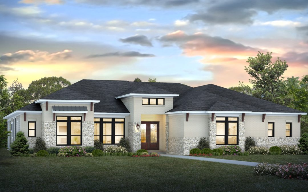 Davis Homes Reveals Rendering for 2020 Indianapolis Home Show Centerpiece Home